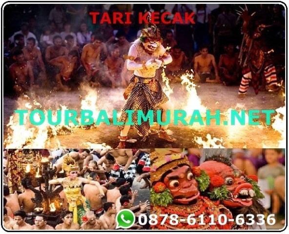 ONE DAY TOUR BALI MURAH UBUD ULUWATU , Pertunjukan Tari Kecak dan Api