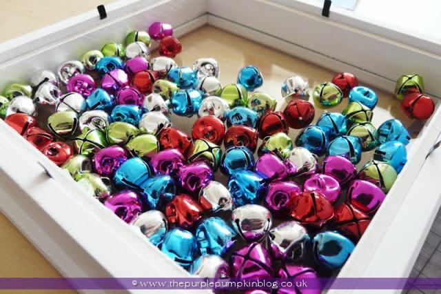 Christmas Shadow Box | The Purple Pumpkin Blog