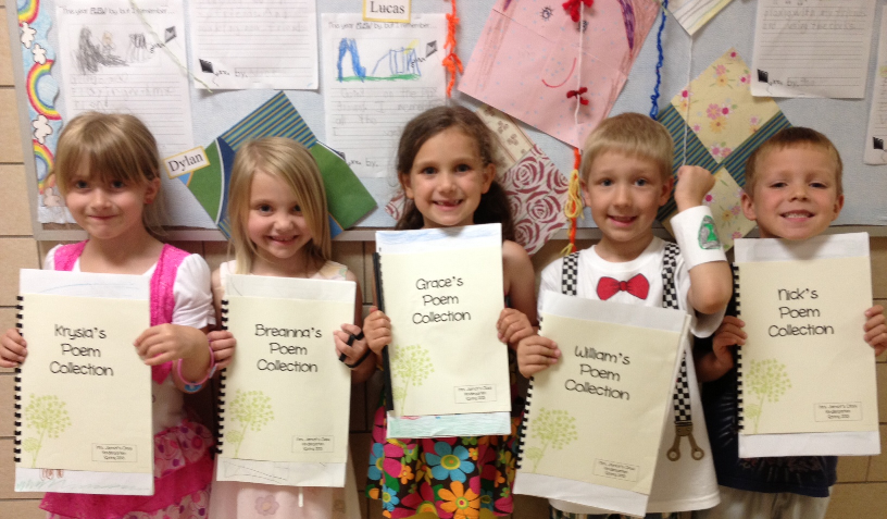 The Poem Farm: Goodbyes and Kindergarten Poems