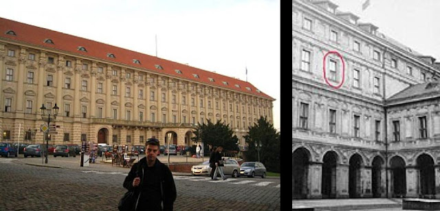 Cernínský Palác Then and Now