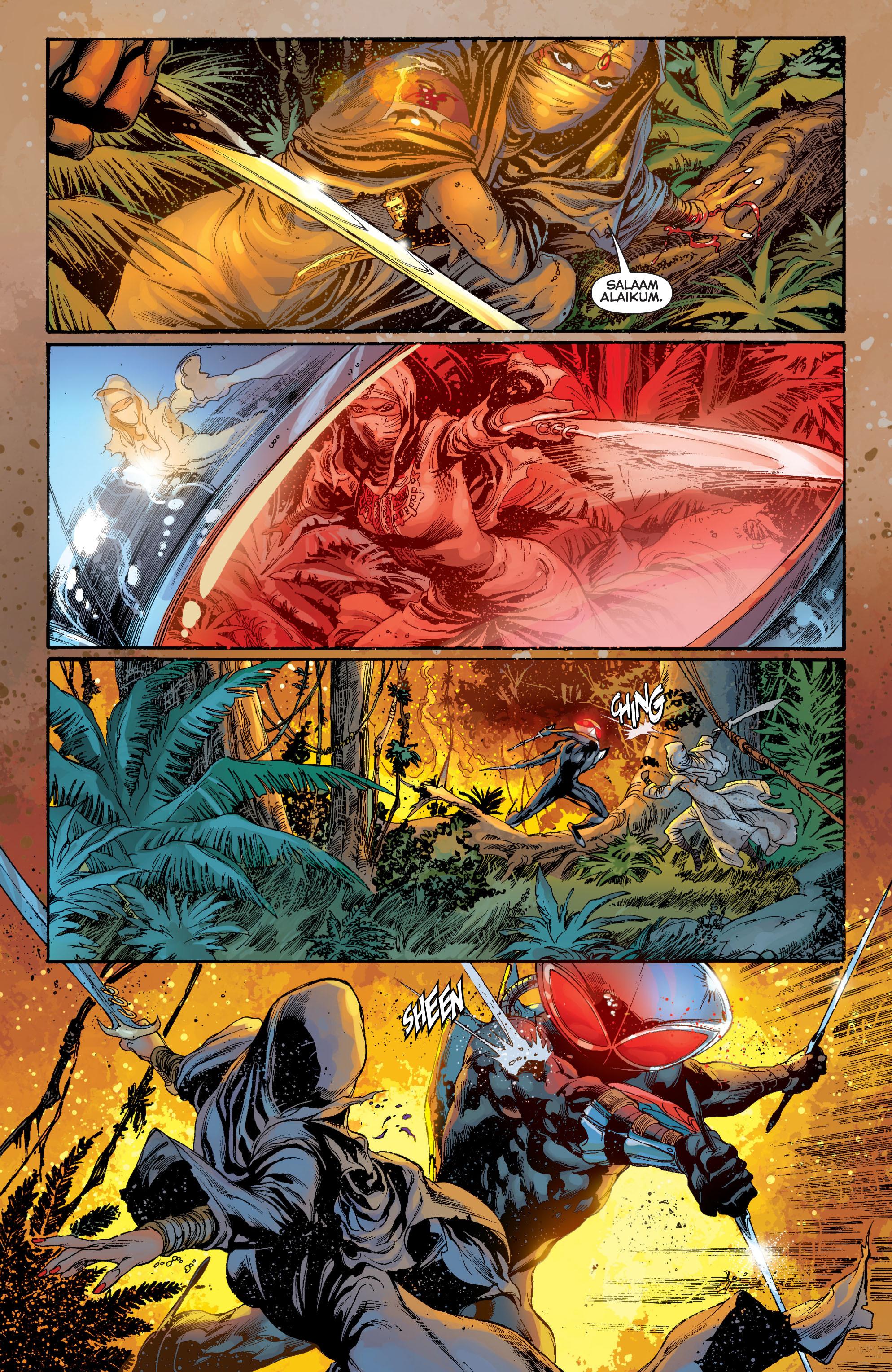 Read online Aquaman (2011) comic -  Issue #7 - 7