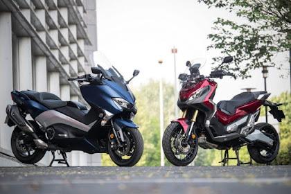 Duel Honda X-ADV 750 VS Yamaha TMAX 530 DX