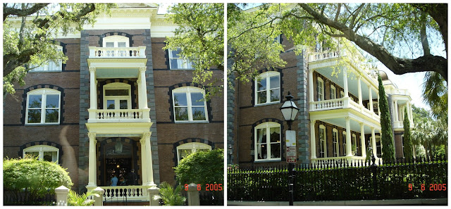 casas antebellum em Charleston, Carolina do Sul