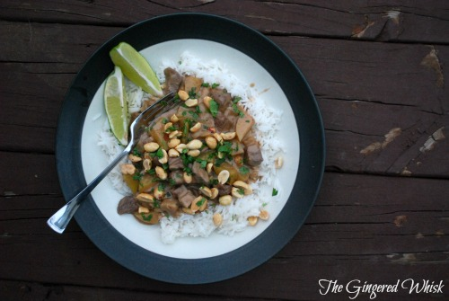 Masaman Beef Curry - The Gingered Whisk