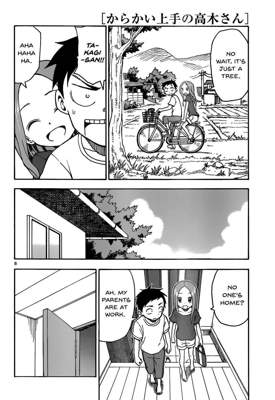 Karakai Jouzu no Takagi-san - Chapter 36