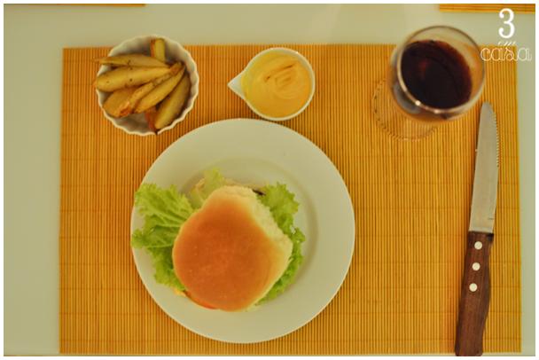 noite hambúrguer