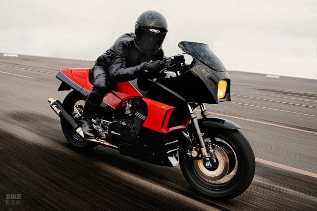 Top Gun Kawasaki GPZ900 Custom via Bike Exif