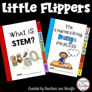 STEM Class: Make Little Flipper books to introduce topics and get your kids ready for STEM!