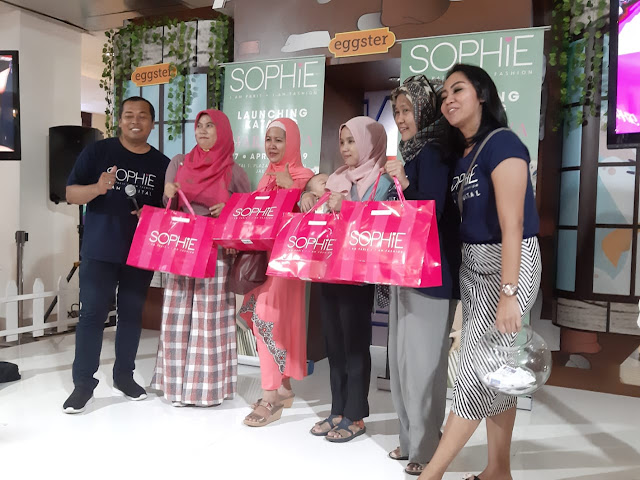 Launching Katalog Sophie Paris