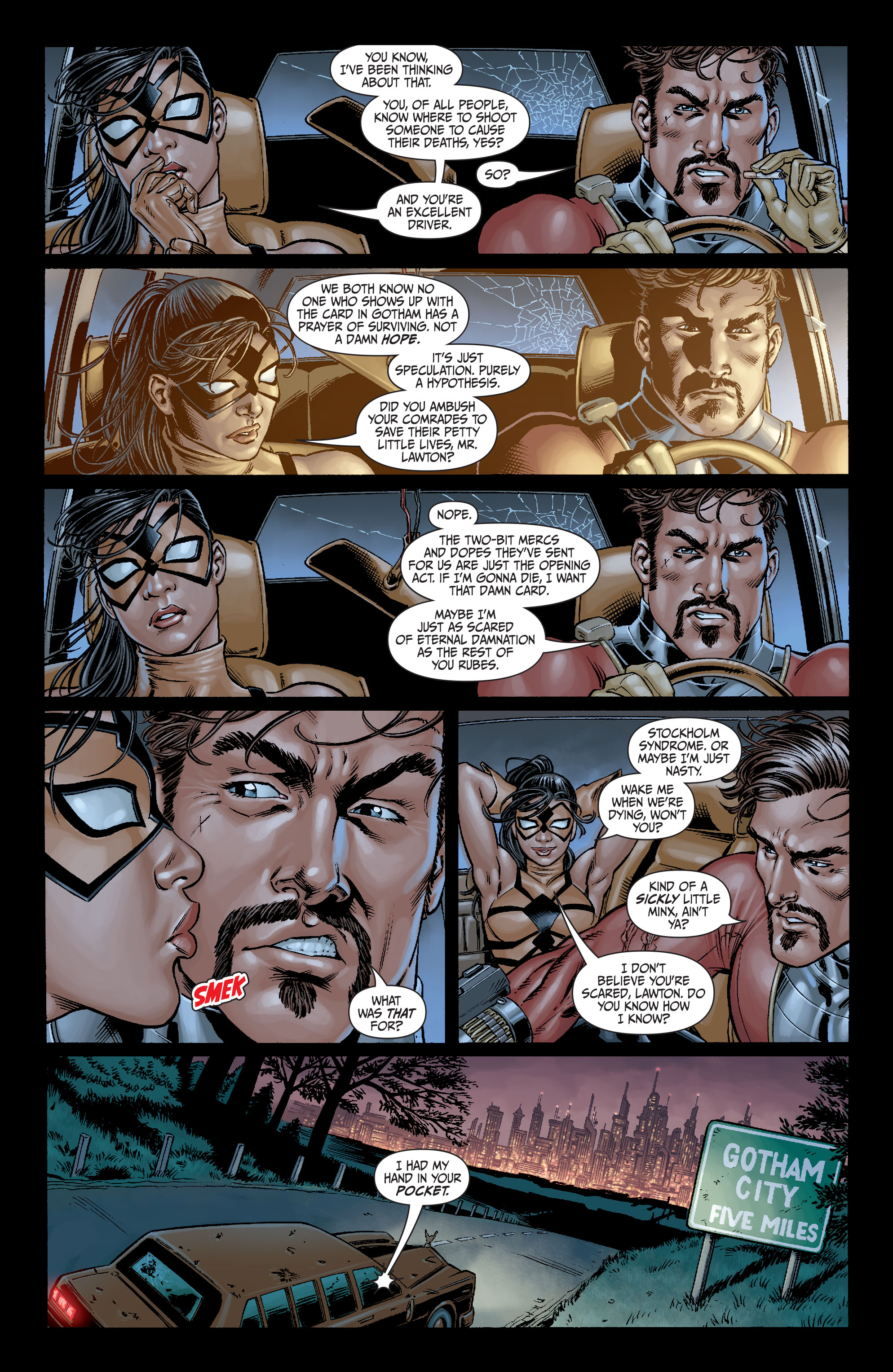 Read online Secret Six (2008) comic -  Issue #7 - 5