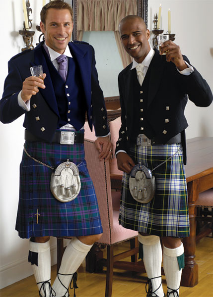 The Black Face Of German Fashion Kilt Feeling Fascination