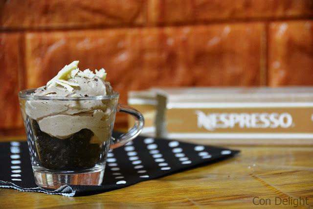 קינוח קפה נספרסו Nespresso coffee dessert