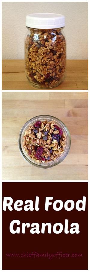 Real Food Granola | ChiefFamilyOfficer.com