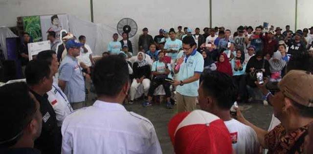 Di Indramayu, Sandi Janji Hentikan Impor Pangan Saat Panen