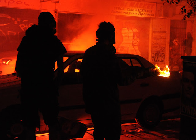 Παρακρατική προβοκάτσια με επίθεση μολότοφ στο Τουρκικό Προξενείο Θεσσαλονίκης