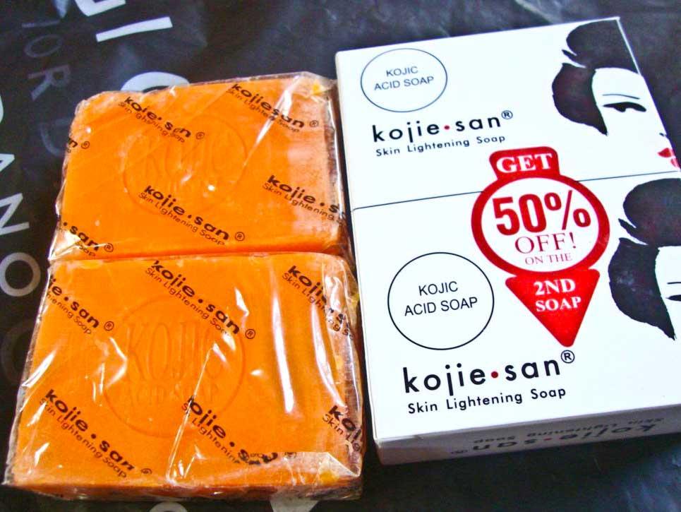 Kojie San Skin Lightening Soap Packaging