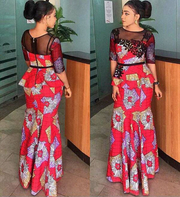 PICTURES OF 50 MOST RECENT ANKARA TRENDING STYLES 2018| Simple but ...