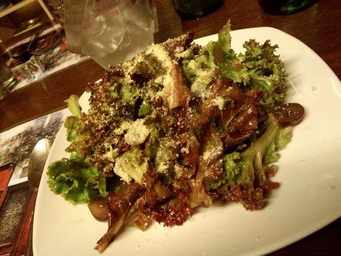 A plate of Caesar salad at Casa Renato