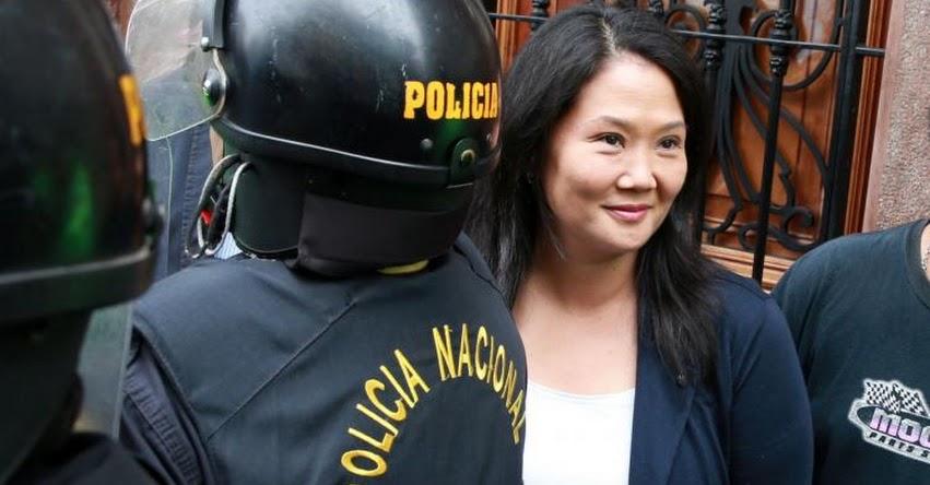 Hoy evalúan prisión preventiva en contra de Keiko Fujimori