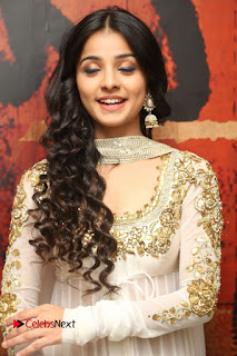 Telugu Actress Mahima Makwana Stills in White Desginer Dress at Venkatapuram Movie Logo Launch  0084.JPG