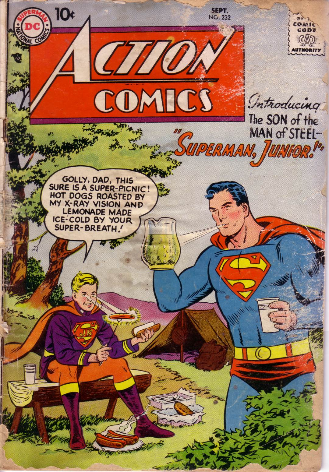 Read online Action Comics (1938) comic -  Issue #232 - 1