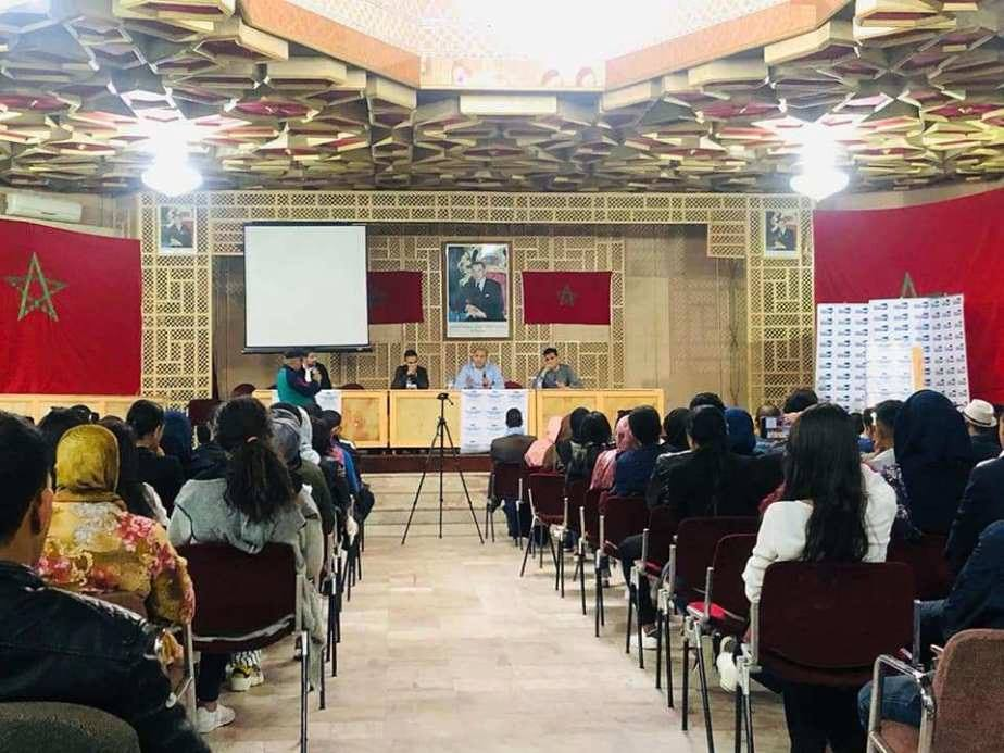 طلبة الأحرار يقتحمون جامعة الحسن الثاني بالبيضاء