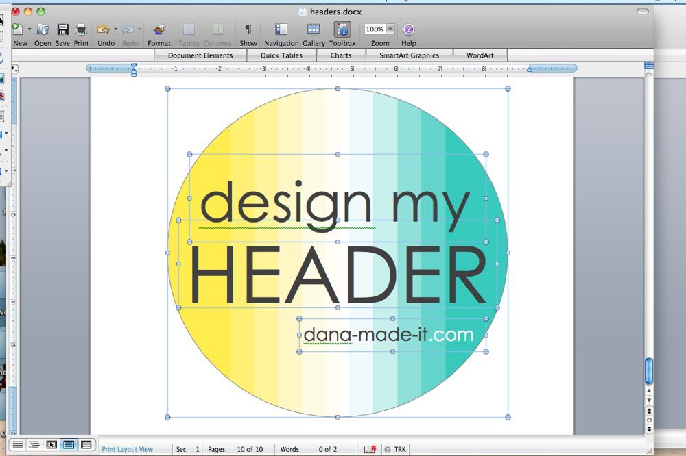 Make graphics in WORD \u2013 MADE EVERYDAY - on word