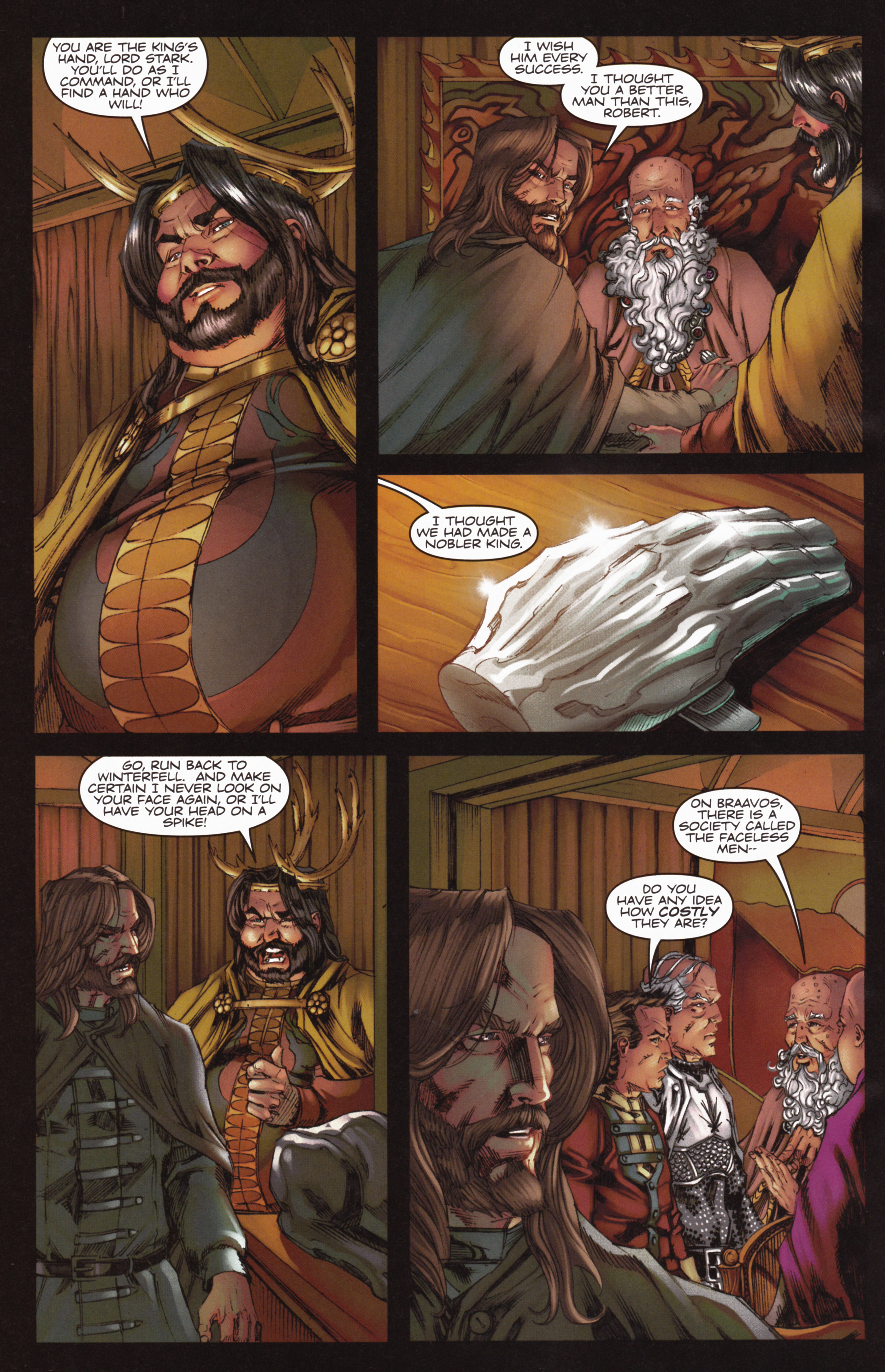 Read online A Game Of Thrones comic -  Issue #10 - 28