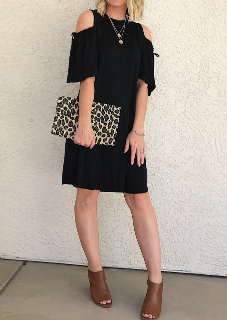 Thrifty Wife, Happy Life- Black dress for Spring