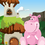 Games4King Cute Hippo Res…
