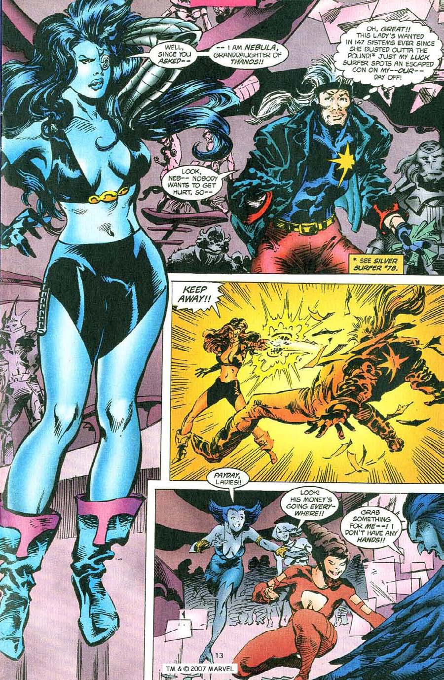 Read online Silver Surfer (1987) comic -  Issue #110 - 15