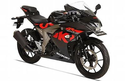 Suzuki GSX-R150 black edition