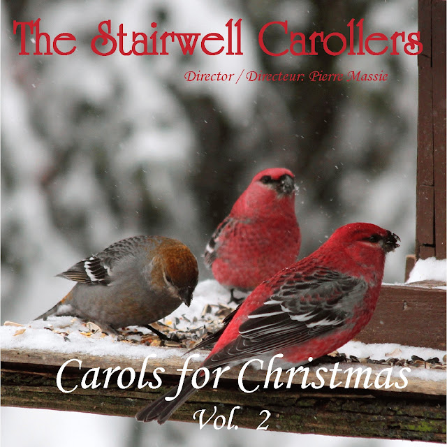 Heavenly choir Christmas carol CD on iTunes - The Stairwell Carollers