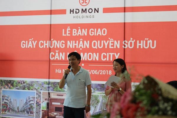 Cư dân Mon City nhận sổ hồng