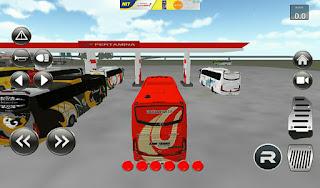 d indonesia permainan ini yakni permainan simulator bus  IDBS Bus Simulator v2.1 (Bus Telolet 3D) APK