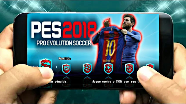 PES 2018 Lite 600 Mb Update Real Faces New Kits Best Graphics Android