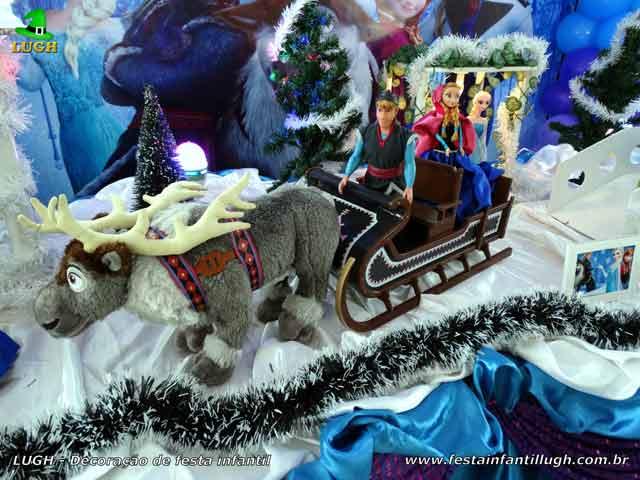 Festa Frozen - Decoração infantil