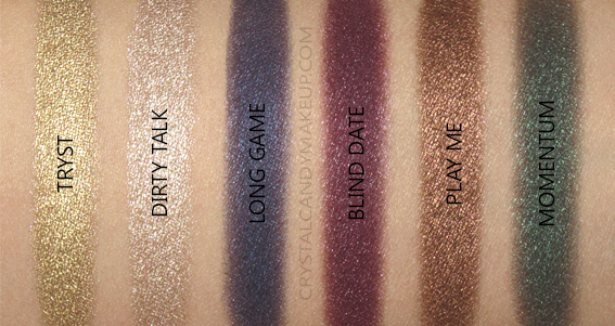 NARS Man Ray Love Game Eyeshadow Palette Holiday 2017 Swatches