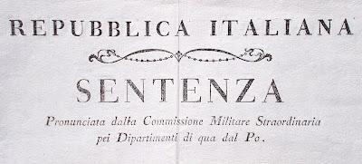 Repubblica Italiana - avviso affisso nel 1803 - documenti storici - collezionismo - annunci