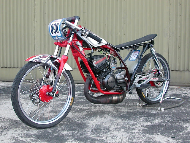Modifikasi Motor Yamaha RX King Untuk Drag