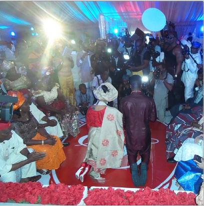 peter%252Bokoy%252Bweddingv Photos from Peter Okoye and Lola Omotayos traditional wedding