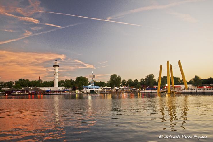 Donauinsel - Viena, por El Guisante Verde Project