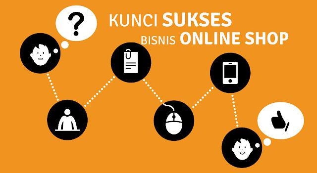 Kunci Sukses Menjalankan Bisnis Online Shop
