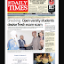 NAIJA NEWSPAPERS: TODAY'S THE DAILY TIMES NEWSPAPER HEADLINES [27 OCTOBER, 2017].