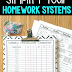 6 Strategies to Simplify your Homework Systems