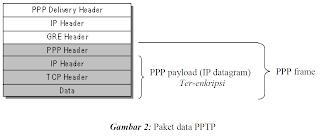 Gambaran struktur paket data
