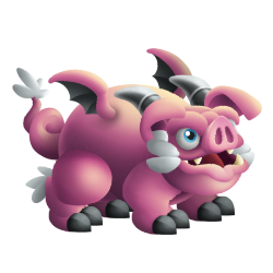 Appearance of Pig Dragon when teenager