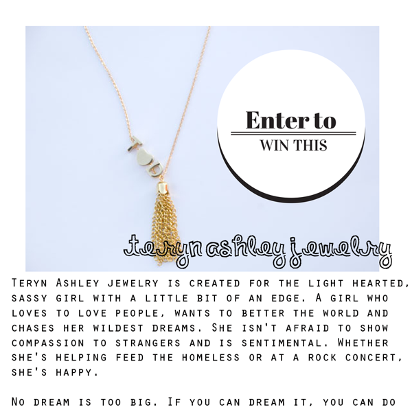 Personalized Teryn Ashley Necklace Giveaway Vintage