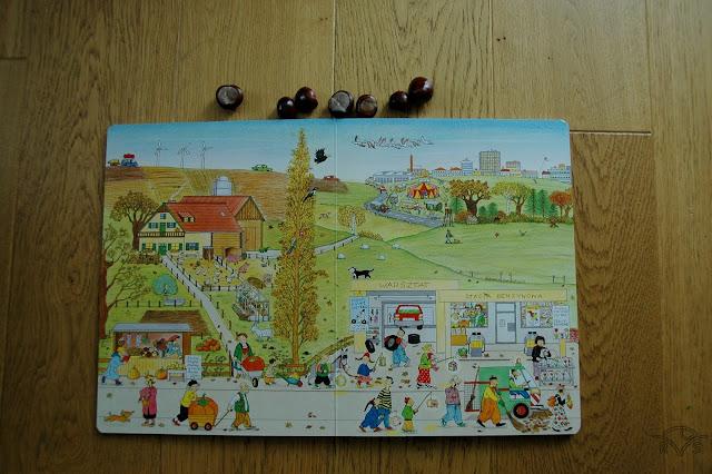 książka o jesieni dla dzieci ulica czereśniowa wydawnictwo dwie siostry