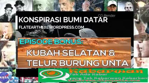 Di serial ke-11 mengenai Propaganda Bumi Datar, Kabarwan menghadirkan presentasi yang berjudul Kubah Selatan Dan Telur Burung Unta